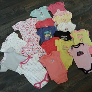 3M Carters, Chick Pea & Baby Gear Bodysuit Bundle